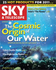 Origin of our Water cover